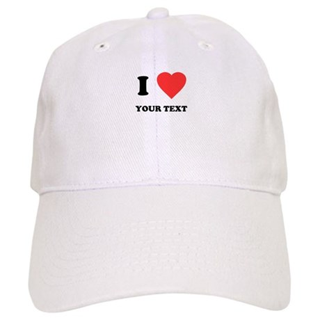 Custom I Heart Cap