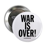 "War Is Over! 2.25"" Button"