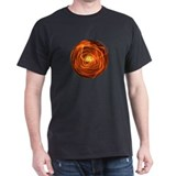Orange Fire Ball T-Shirt