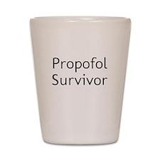 Propofol Survivor Shot Glass