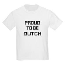 Proud to be Dutch Kids T-Shirt