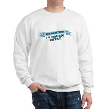 I Heart Double Entry Sweatshirt