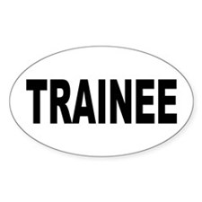 Trainee Decal