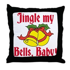 Jingle My Bells Throw Pillow