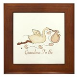 Grandma To Be (SP) Framed Tile