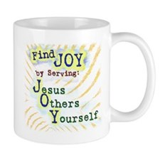 Find Joy in serving Jesus Oth Mug