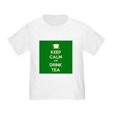 Keep Calm & Drink Tea (Green) T