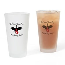 The Fox And Swan Official Drinking Glass