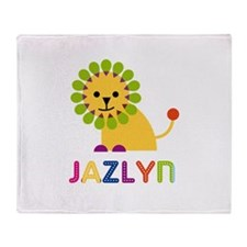 Jazlyn the Lion Throw Blanket