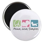 Peace, Love, Dandies Magnet