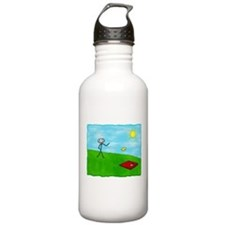 Stick Person (Image Only) Water Bottle