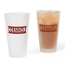 Cornhole Drinking Glass