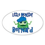 Little Monster Bernard Sticker (Oval)