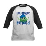 Little Monster Bernard Kids Baseball Jersey