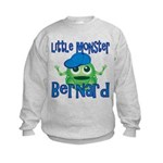 Little Monster Bernard Kids Sweatshirt