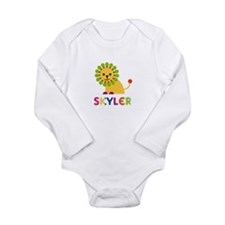 Skyler the Lion Long Sleeve Infant Bodysuit