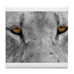 Lion Eyes Tile Coaster