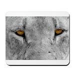 Lion Eyes Mousepad
