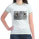 Lion Eyes Jr. Ringer T-Shirt