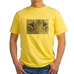 Lion Eyes Yellow T-Shirt