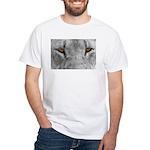 Lion Eyes White T-Shirt