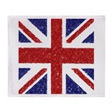 BRITISH FLAG Throw Blanket