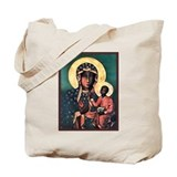 Black Madonna Tote Bag