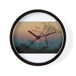 Phinda Sunset Wall Clock