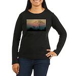 Phinda Sunset Women's Long Sleeve Dark T-Shirt