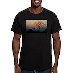 Phinda Sunset Men's Fitted T-Shirt (dark)