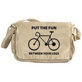 Fun between your legs. Messenger Bag