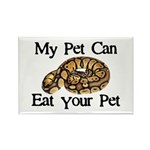 My Pet Can Eat Your Pet Rectangle Magnet (100 pack