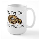 My Pet Can Eat Your Pet Large Mug