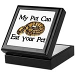 My Pet Can Eat Your Pet Keepsake Box
