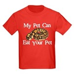 My Pet Can Eat Your Pet Kids Dark T-Shirt