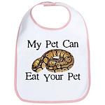 My Pet Can Eat Your Pet Bib