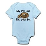 My Pet Can Eat Your Pet Infant Bodysuit