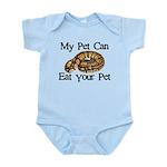 My Pet Can Eat Your Pet Infant Bodysuit