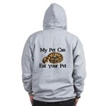 My Pet Can Eat Your Pet Zip Hoodie