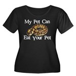 My Pet Can Eat Your Pet Women's Plus Size Scoop Ne