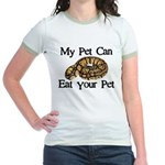 My Pet Can Eat Your Pet Jr. Ringer T-Shirt