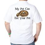 My Pet Can Eat Your Pet Golf Shirt