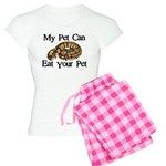 My Pet Can Eat Your Pet Women's Light Pajamas