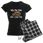 My Pet Can Eat Your Pet Women's Dark Pajamas