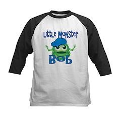 Little Monster Bob Kids Baseball Jersey