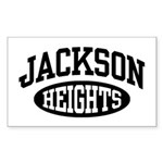 Jackson Heights Sticker (Rectangle)