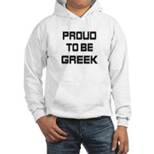 Proud to be Greek Hoodie