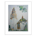 California Tower by Riccoboni Small Poster