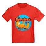 Garfield Show Logo Kids Dark T-Shirt