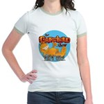 Garfield Show Logo Jr. Ringer T-Shirt